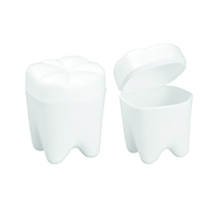 "3310262 Tooth Savers Tooth Shaped, 2"", White, 72/Pkg."