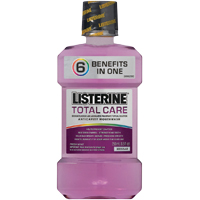2571362 Listerine Total Care Fresh Mint, 1 L, 6/Case, 30635