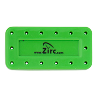 9514562 Magnetic Bur Blocks 14-Hole, Neon Green, 50Z403P