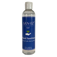 6600862 San-EZ Isopropyl Alcohol-based Hand Sanitizer San-EZ Gel,8 oz.