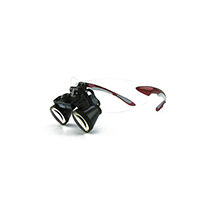 """9900962 Loupes Red Frame, 3.0x Kit, 16""""-21"""" Distance, 1-5006"""