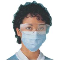 0063272 Sof-loop Face Masks Blue, 50/Box, 42281-01