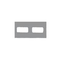 9522672 Klear-Vue Cardboard 2H Bitewing, 100/Box, 25206