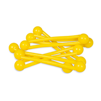 9907672 Pro-Ties Yellow, 6/Pkg., 650102Y