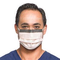 9329672 FLUIDSHIELD Procedure Mask Orange, Level 3, w/So Soft Lining, 25/Box, 47137