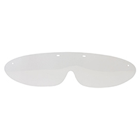 9528872 Googles Eye Shields Lenses, Clear, 25/Pkg, GDLR25-N