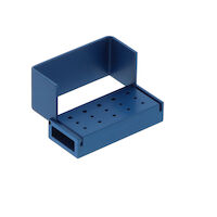 9590082 Aluminum Bur Blocks 10 FG, 5 RA, Blue, AB320-1U