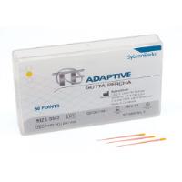 8223082 TF Adaptive Gutta Percha SM2, Yellow, 50/Box, 815-1540