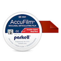 "8750182 AccuFilm II Red/Red, 3 1/2""L x 7/8"" W, 280/Pkg, S021"
