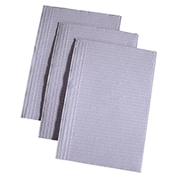 "9532282 Distech Dental Bibs Lavender, 13"" x 18"", 500/Box, 7280"