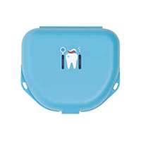 "9538282 Imprinted Retainer Boxes 1"", Neon Blue, 24/Pkg., 25P500N"