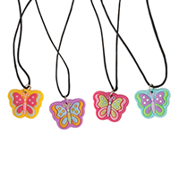 3310092 Butterfly Necklaces Butterfly Necklace, 72/Pkg.