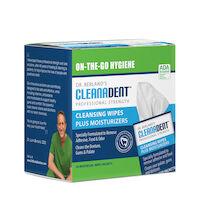 5252292 Cleanadent Denture & Gum Wipes Cleanadent Denture & Gum Wipes,30/Box,CW-005
