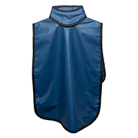 9080013 Lead-Free Aprons Pano w/Removable Collar, Adult, Blue