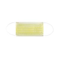4952013 Monoart Face Masks Protection 3 Yellow, 50/Box, 217116