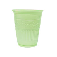 5250613 Plastic Cups Plastic Drinking Cups, 1000/Case, Green, 27704