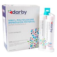 9516323 Vinyl Polysiloxane Impression Material Regular Set, Heavy Body, Unflavored, Rose, 50 ml, 4/Pkg.