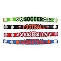 3310133 Sport Design Bracelets Sport Designs Bracelets, 36/Pkg.