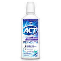 8520433 ACT Total Care Dry Mouth, Alcohol Free, Soothing Mint, 1 oz., 48/Box, 9689