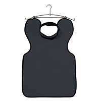 9558733 Lead-Free X-Ray Aprons Apron with Thyroid Collar, Charcoal, 31389