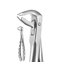 8250043 X-Trac Forceps Lower Anterior, Notched Beaks, 3600