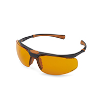 4952243 Monoart Protective Glasses Stretch, Orange, 261031