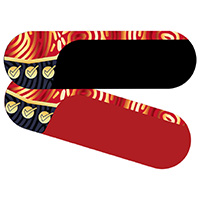 9510343 Bite-Chek Red/Black, 100/Pkg., BC-RED/BLACK