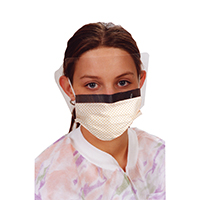 9508153 Ultra 3-in-1 Sensitive Masks with Visor Diamond, w/Splash Visor, 25/Box, 5673E-DD