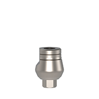4970253 Cemented Abutments Short Wide Cementing Post, 7 mm, AGM-110S