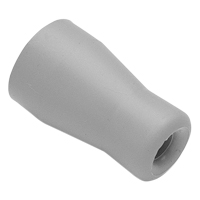 8270453 Saliva Ejector Tips Push on, Gray, 5/Pkg., S-1397