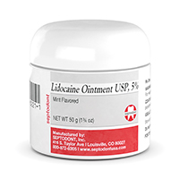 9517953 Lidocaine Ointment Mint, Jar, 01T0160