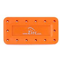 9514563 Magnetic Bur Blocks 14-Hole, Neon Orange, 50Z403Q