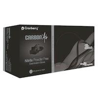 5250963 Carbon Air Nitrile Exam Gloves X-Large,300/Box,Black,CR3269