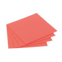 "9533373 Sheet Resin Materials Base Plate Material, .060"", Pink, 25/Box, 9616210"