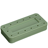 9515773 14-Hole Magnetic Bur Block Green, Magnetic, 14-Hole, 400BR-4