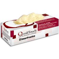 3051183 QualiTouch EXTRA Latex PF Gloves Medium, 100/Box, 43303