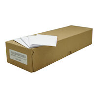 2211283 White Woven Envelopes White Envelopes, 500/Box, 00106