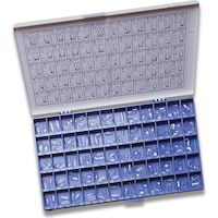 9509383 Transparent Crown Forms Kit, 120/Pkg.