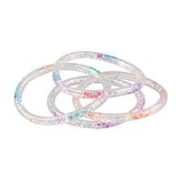 3310093 Rainbow Glitter Water Bracelets Glitter Water Bracelets, 36/Pkg.