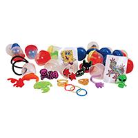 """3310193 Toy Capsules 1"""", Economy Mix, 250/Pkg."""
