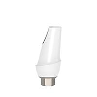 4970293 Esthetic Zirconium Abutment Titanium Base 15° Angulated, 2 mm x 11 mm, AGM-ZRM-152