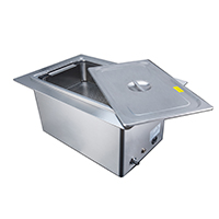8900493 Tri-Clean Ultrasonic Cleaners 20 Liter, Recessed, U-20LHREC