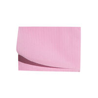 "5250593 Disposable Patient Bibs Disposable Patient Bibs,13"" x 18"",125/Pkg. ,Mauve,27401"
