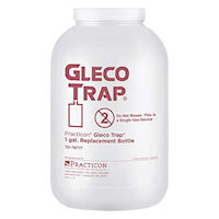 """7221004 Gleco Trap System 9_"""" Tall Replacement Bottles, 128 oz., 4/Box, 7078717"""