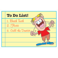 3315004 To Do List Postcard Postcard, 250/Box, RC-8148