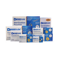 "9510104 DefendLoc Pre-Folded Sterilization Pouches 3.5"" x 5.25, 200/Box, SP-1500"