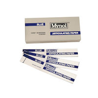 "8143104 Mynol Articulating Paper Thin, Blue, .0035"", 140 Sheets, 11003"