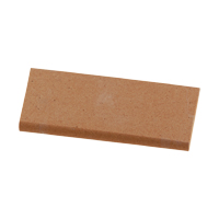 "8433204 Sharpening Stones India Wedge, 4 1/2"" x 1 7/8"" x 3/8"" Down, Medium Grit, SS6"