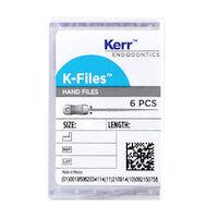 8543404 K-Files #45-80, 25 mm, 6/Pkg., 821-8125