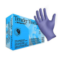 2211904 Tender Touch Nitrile Exam Gloves Small, 200/Box, TTNF202